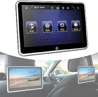 "10.1"" Car Headrest Video Player,Headrest Monitor with Bluetooth USB SD FM,Portable Digital HD Headrest Player Car Multimed..."