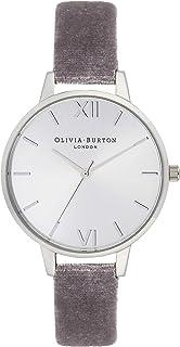 Olivia Burton Womens Quartz Watch, Analog Display and Leather Strap OB16DE04