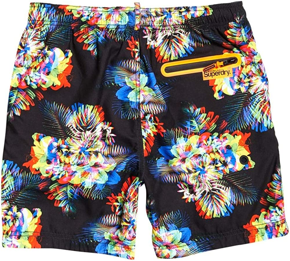 Superdry Swim Shorts Tropical Coral Mens Size Small Surplus Goods