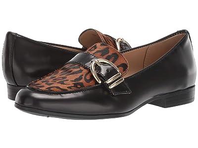 Naturalizer Janie (Black Cheetah Brush-Off Leather) Women