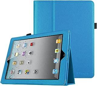 Fintie iPad 4/3/2 Case - Slim Fit Folio Stand Case Smart Protective Cover Auto Sleep/Wake Feature for Apple iPad 2, iPad 3 & iPad 4th Generation with Retina Display, Blue