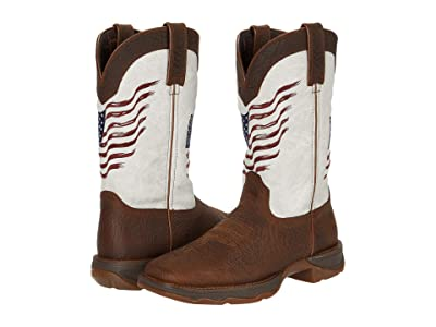 Durango Lady Rebel Flag (Bay Brown/White) Women