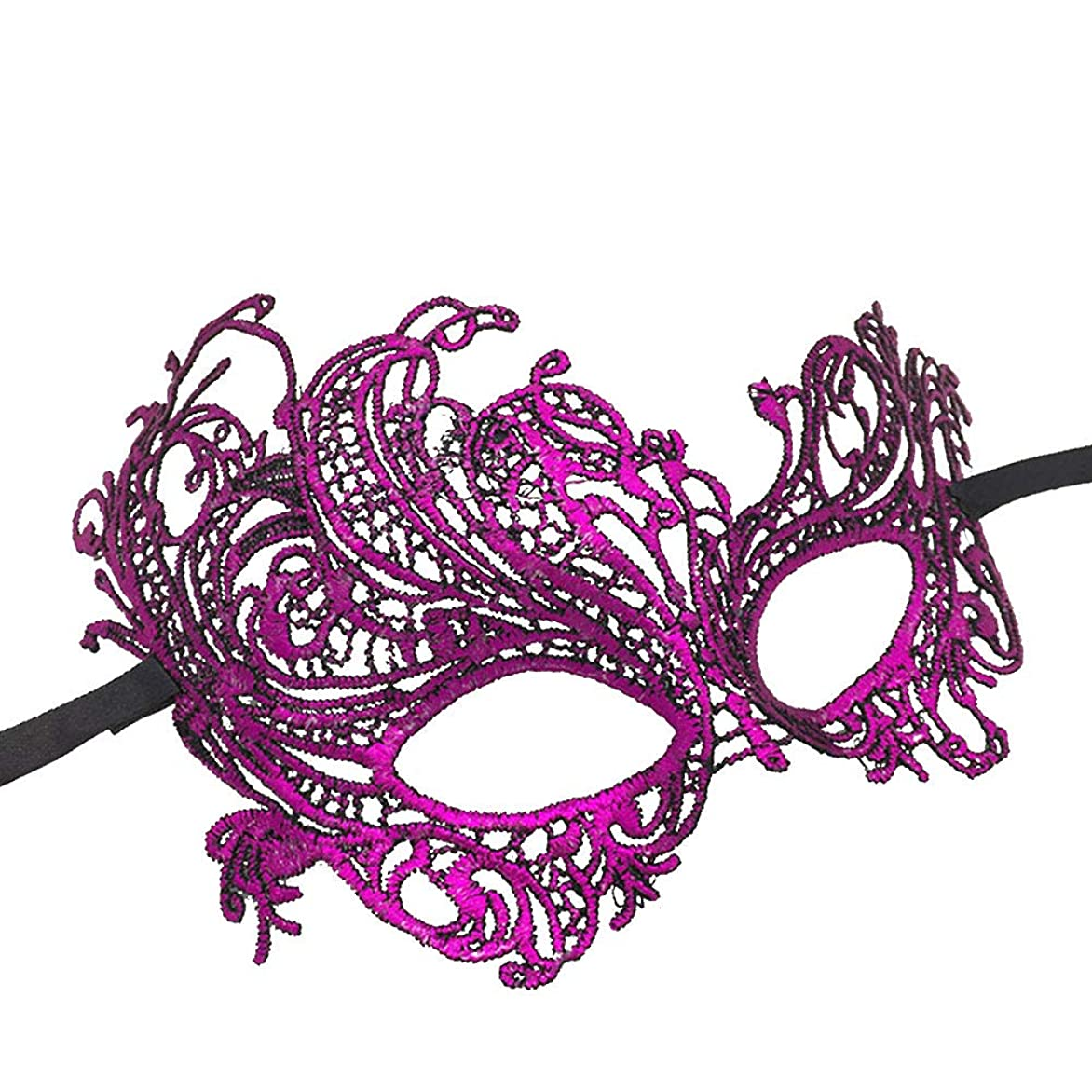 完了小売不安定なAuntwhale ハロウィンマスク大人恐怖コスチューム、パーティーファンシー仮装ハロウィンマスク、フェスティバル通気性ギフトヘッドマスク - パープル