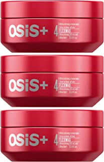 OSiS+ FLEXWAX Ultra Strong Cream Wax, 2.8-Ounce (3-Pack)