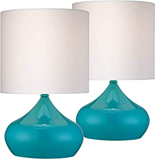 Mid Century Modern Accent Table Lamps 14 3/4