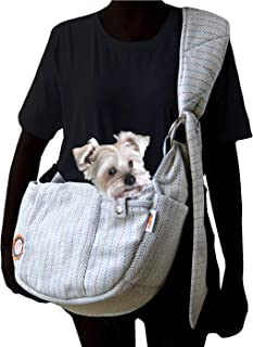 Alfie Pet - Bristrol Pet Sling Carrier - Color: Light Grey