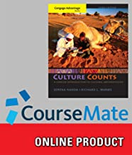 CourseMate for Nanda/Warms' Cengage Advantage Books: Culture Counts: A Concise Introduction to Cultural Anthropology, 3rd Edition