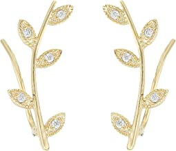 SHASHI Amelia Climber Earrings