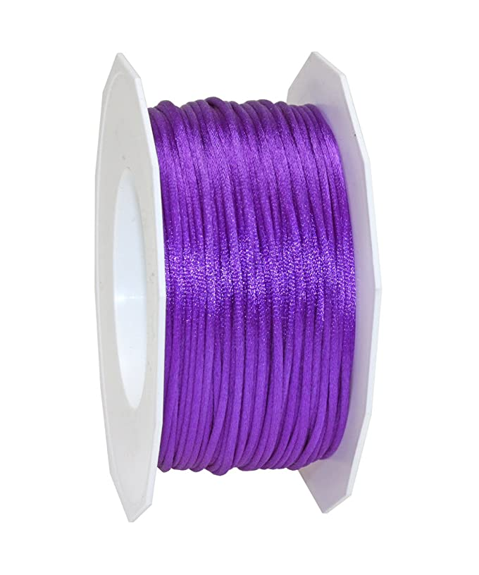 Pr?sent C.E. 3 mm - 50 m Pattberg Ribbon Rhein Cord, Purple