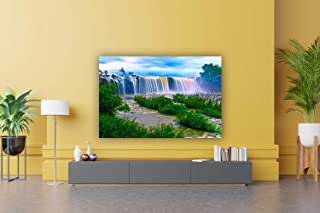 CRAFTSFEST Vinyl Nature Wall Painting, Multicolour, Printed, 36inch x 24 inch / 90 cms x 60 cms