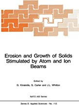Erosion and Growth of Solids Stimulated by Atom and Ion Beams