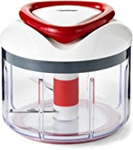 ZYLISS Easy Pull Food Chopper and Manual Food Processor – Vegetable Slicer and..