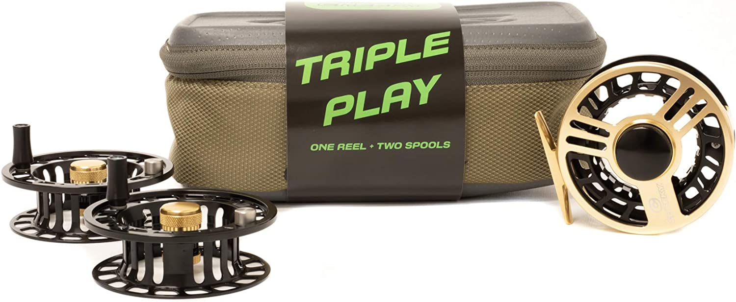 Max 77% OFF Cheeky Launch Triple Play Reel Challenge the lowest price Fly