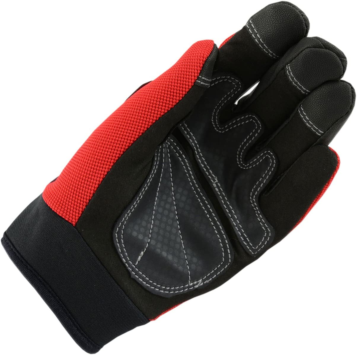 Raider Unisex-Child MX Gloves Red, Youth Small