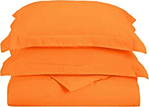 Superior 1500 Series Premium Quality 100% Brushed Soft Microfiber Duvet Cover Set with Pillow Shams, Silky Soft and Luxuri...