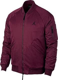 Men's Jordan Sportswear Wings MA-1 Jacket BORDEAUX/BLACK