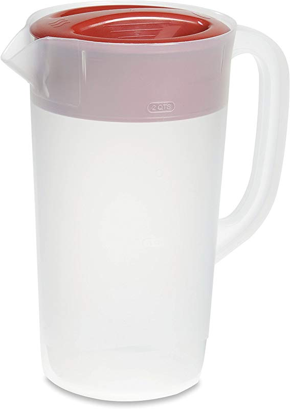 Rubbermaid Pitcher 2 Quart Racer Red 1953764