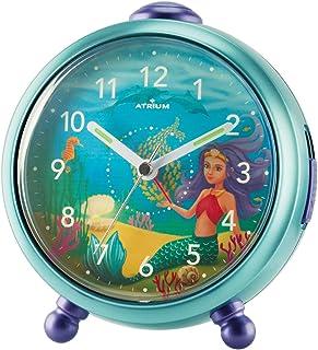 ATRIUM A932-13 - Despertador para niña, sirena, sin tictac