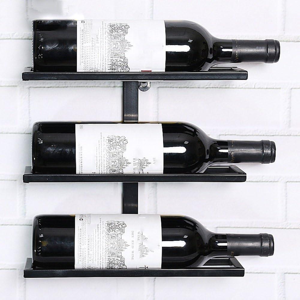 BJLWTQ Wall Mounted Hanging Wine Rack 2 3 5 8 6 Purchase Bottles Outstanding Ho 7 4 9