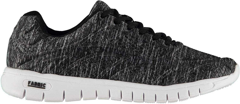 Fabric Flyer Runner Trainers Mens Black Athleisure Footwear shoes Sneakers