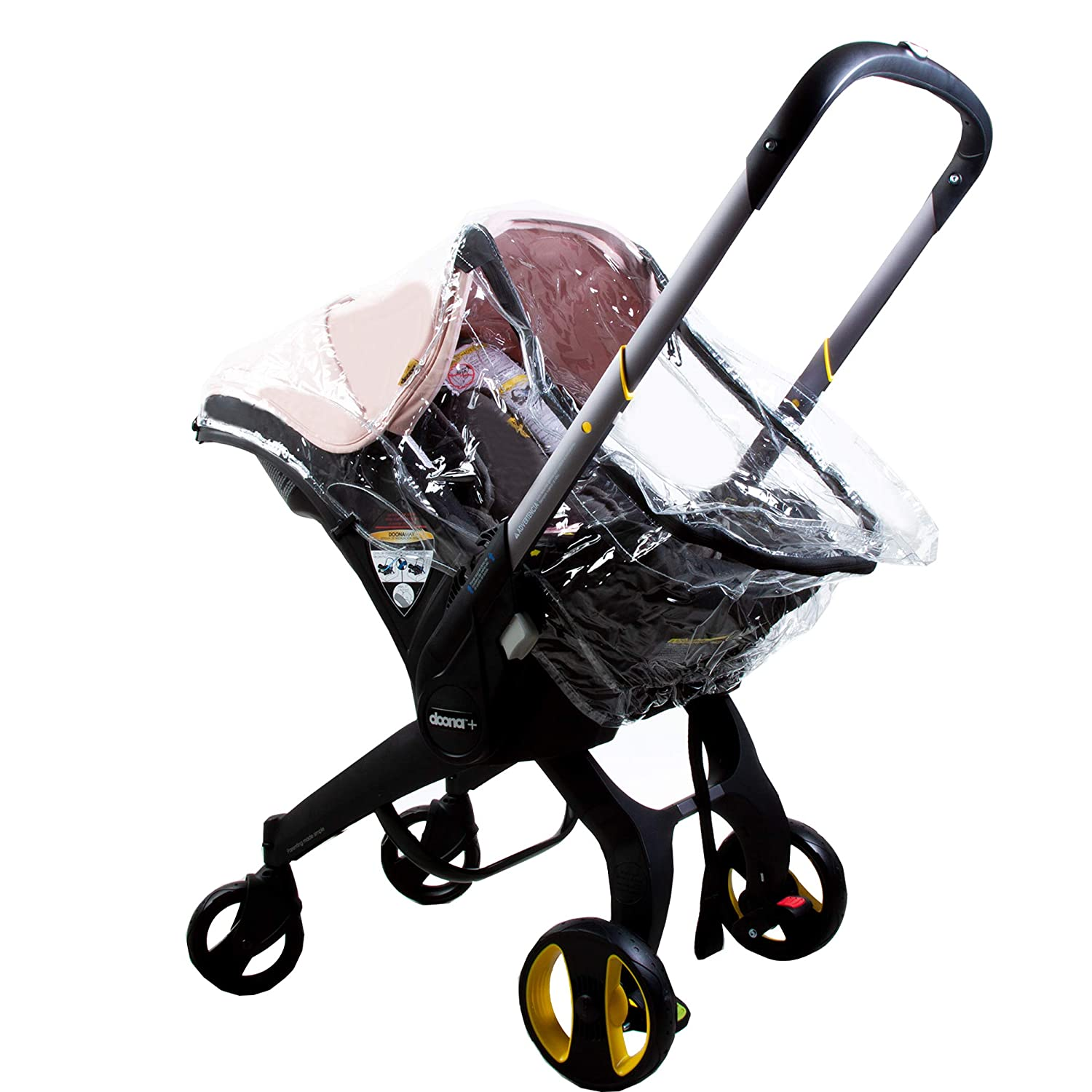 Besser Products Premium Rain Cover, Wind Shield and Weather Protector, Designed for and Compatible with The Doona Car Seat Stroller