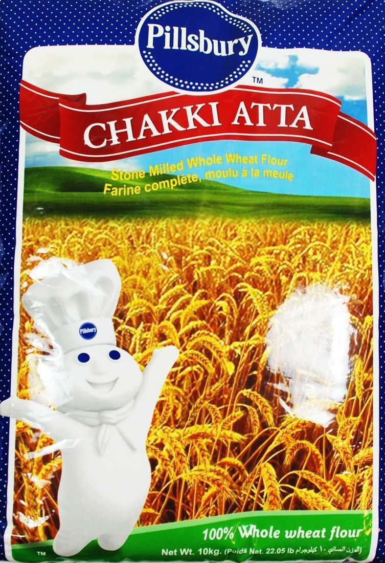 Pillsbury Chakki Ranking TOP16 Atta 10 Kg 100% Wheat Surprise price Full Whole of Fibre