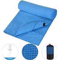 RUNACC Anti-Slip Yoga Towels for Yoga Mat