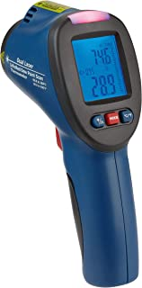 TFA Dostmann SCHIMMEL DETEKTOR Infrarot Thermometer mit Taupunktermittlungund Doppellaser, Blau, L110 x B72 x H240 mm