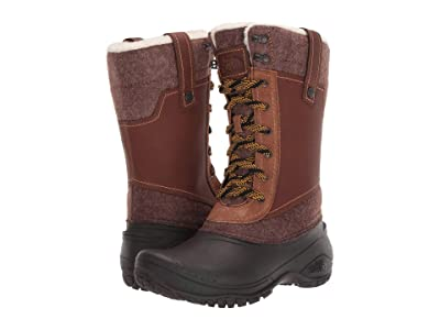 The North Face Shellista III Mid (Demitasse Brown/Carafe Brown) Women
