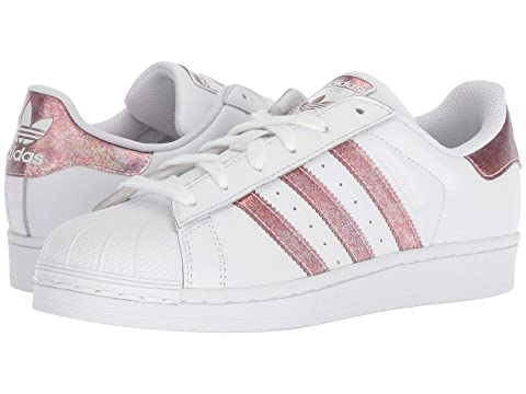 7e9ab2a63ef5 adidas Originals Kids Superstar Iridescent J (Big Kid) at Zappos.com