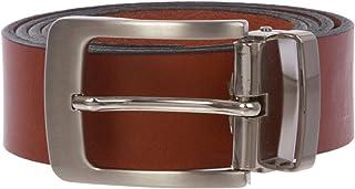 "Men's 1 1/4"" Clamp on Italian Leather Dress Belt"