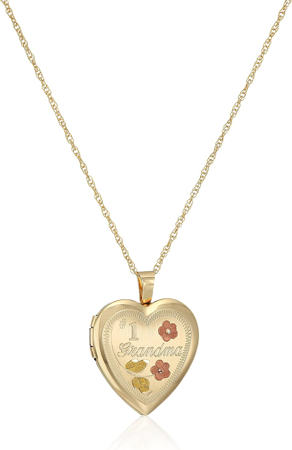 14k Gold-Filled Satin Finished Hand All items Super intense SALE free shipping Engraved Pe Heart #1 Grandma