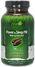 Power to Sleep PM by Irwin Naturals, 6mg Melatonin, Promotes Restful Sleep Cycle, 60 Liquid Softgels