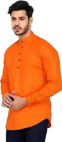 Men s Cotton Short Kurta