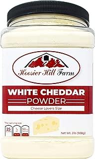 Hoosier Hill Farm White Cheddar Cheese Powder, Cheese Lovers, 2 Pound