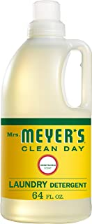 Mrs. Meyer's Laundry Detergent, Honeysuckle, 64 Fluid Ounce