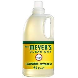 Mrs. Meyers Clean Day Laundry Detergent, Honeysuckle, 64 fl oz