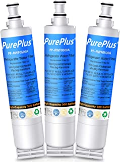 PUREPLUS 4396508 Refrigerator Water Filter, Compatible with 4396510, 4392857, 4396547, EDR5RXD1, Filter 5, Kenmore 46-9010, RWF0500A, PUR W10186668, NLC240V, WF285, WSW-1, 8212491, 4396509 (3 Pack)
