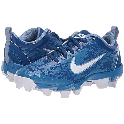 Nike Kids Hyperdiamond 2.5 Keystone Baseball (Toddler/Little Kid/Big Kid) (Gym Blue/White/Military Blue/Work Blue) Kids Shoes