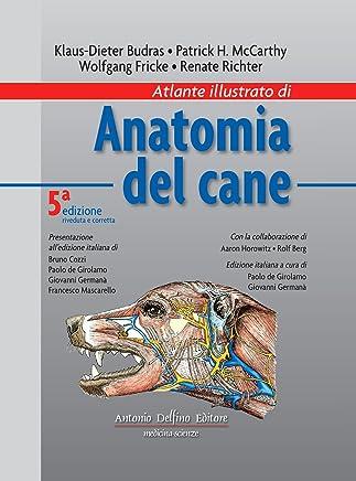 Atlante illustrato di anatomia del cane
