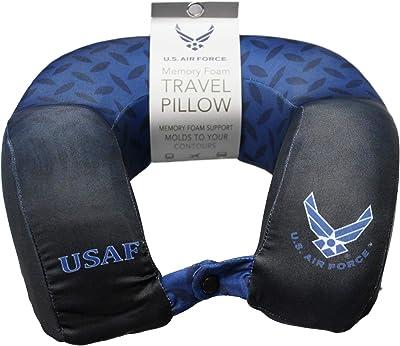 JWM Memory Foam Travel Neck Pillow - Air Force