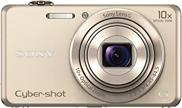 Sony DSCWX220/N 18.2 MP Digital Camera with 2.7-Inch LCD (Gold)