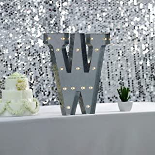 aluminum letters with lights