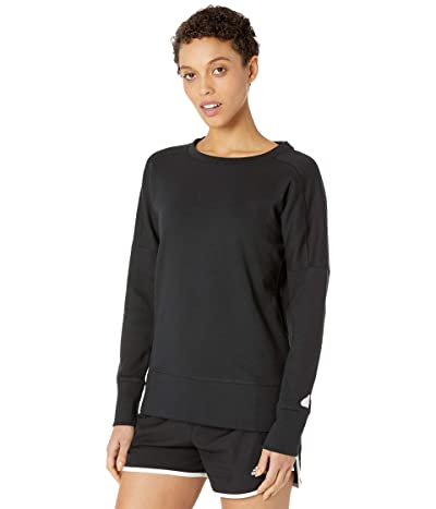 adidas Golf Go-To Primegreen Crew Sweatshirt (Black) Women