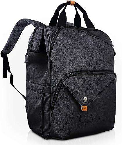 Hap Tim Laptop Backpack 15.6/14/13.3 inch Laptop Bag Travel Backpack for Women/Men Waterproof School Computer Bag Large Capacity Bookbag for College/Travel/Business (7651AU-DG) product image