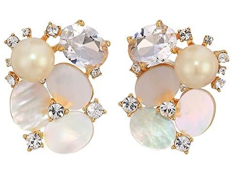Kate Spade New York Disco Pansy Cluster Studs Earrings