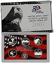 2007 S US Mint Quarters Silver Proof Set OGP