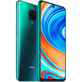 "Xiaomi Redmi Note 9 Pro - Smartphone de 6.67"" (DotDisplay, 6 GB RAM, 128 GB ROM, 64 MP AI Quad cámara, batería de 502 0mAh) Tropical Green(Global version)"