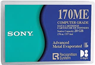 Sony QGD170ME Mammoth D8 8mm Data Cartridge 20/40 GB (1-Pack) (Discontinued by Manufacturer)