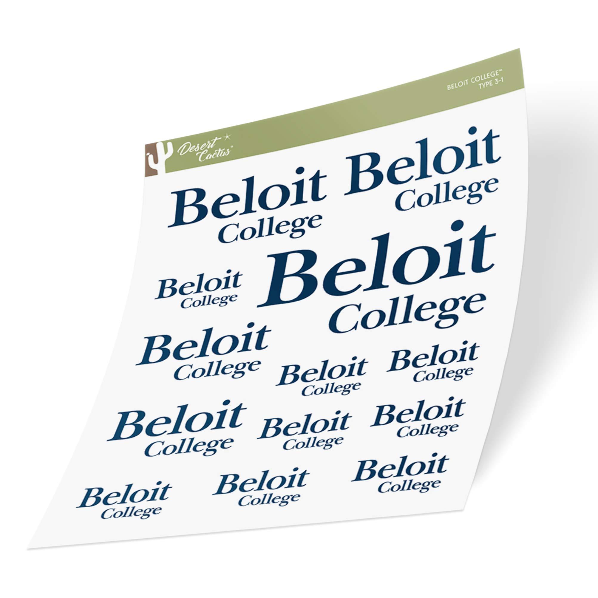 Desert Cactus Beloit College Bucs Buccaneers NCAA Metal License Plate Frame for Front or Back of Car Officially Licensed Alumni